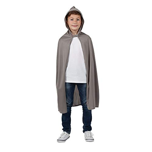 Cape à capuche Costume pour enfant Gris