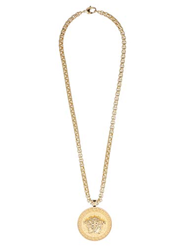 Luxe Mode | Versace Heren DG14703DMT1D00O Gouden Ketting | Seizoen Permanent