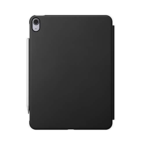NOMAD Rugged Folio Case PU - Funda de plástico con tapa para iPad Air de 4ª generación, color gris