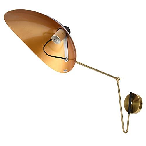 Aplique De Pared, Lámpara De Pared Ajustable No Fácil De Oxidar Para Dormitorio Para Sala De Estar