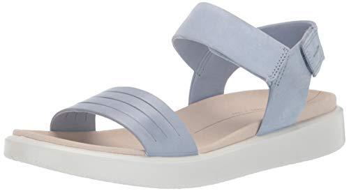 ECCO Women's Flowt Strap Sandal, Dusty Blue/Dusty Blue, 39 M EU (8-8.5 US)