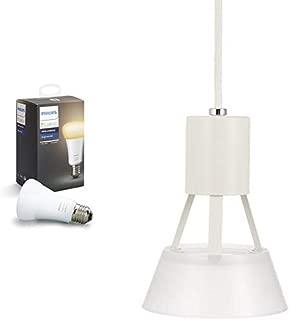 Philips Hue (ヒュー) ホワイトグラデーション シングルランプ スマート LEDライト 【Amazon Echo、Google Home、Apple HomeKit、LINE対応】 + コイズミ LEDペンダント Philips Hue対応 BP17002