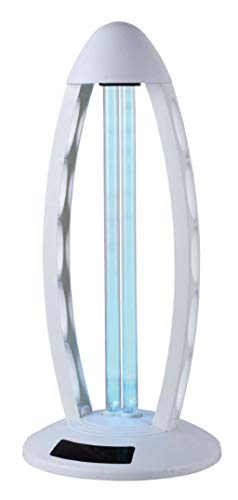 Lampada sterilizzatrice a raggi UV, purifica l'aria fino a 40 mq (white)