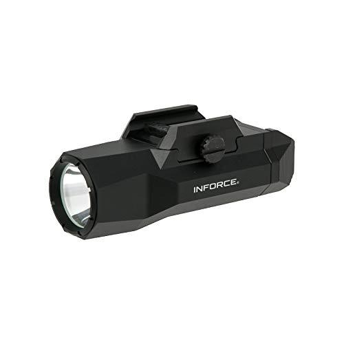 Inforce WILD2 Pistol Mounted Light 1,000 Lumens White Light Black Body WLD2-05-1