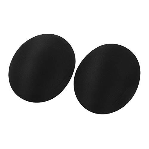 YiZYiF 1 Pair Mens Rear Enhancing Butt Pads Removable Foam Contour Hip Sponge Buttock Pads for Underwear Boxer Brief Black One Size