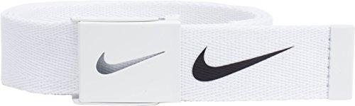 Unbekannt Nike Herren Tech Essential Webgürtel, Herren, weiß, Einheitsgröße