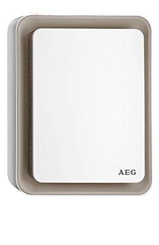 AEG värmefläkt HS 207 B, unik design, Sweet-Air-teknik, tyst luftflöde, vält- och frostskydd, beige, 1,8 kW, 234830
