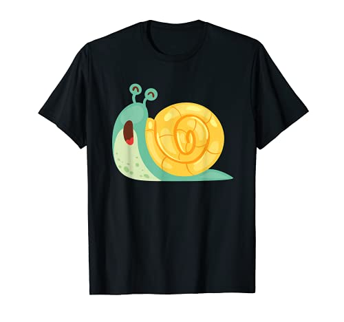 Escargot drôle toujours avec le calme jaime les escargots T-Shirt