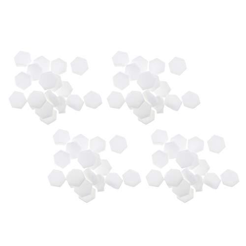 perfeclan 320 Pièces Tampon Stamping Ongle Manucure Eponge Nail Art Vernis Degrade Decor Sponge