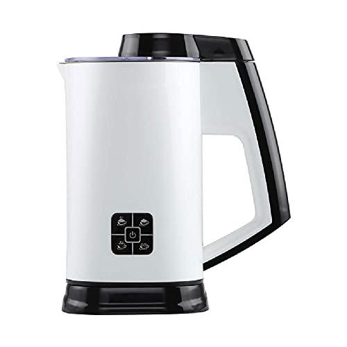 YANLAN Leche Fretro Electric Hot Bek Leche Steamer, Froth Froth Frother Milk Milk Froth Froth Froth, Cappuccino, Chocolate Caliente,White