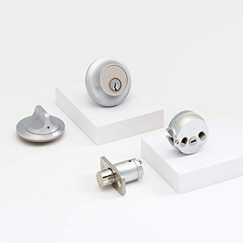 Level Touch, Keyless Entry Using Touch, a Key Card, or Smartphone. Bluetooth Enabled, HomeKit Compatible - Satin Chrome