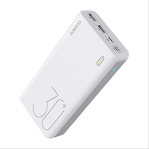 SOTUISA Sense 8 + Power Bank 30000mah Qc PD 3.0 Carga Rápida Powerbank 30000 Mah Charger Externo Battery para iPhone Xiaomi Mi