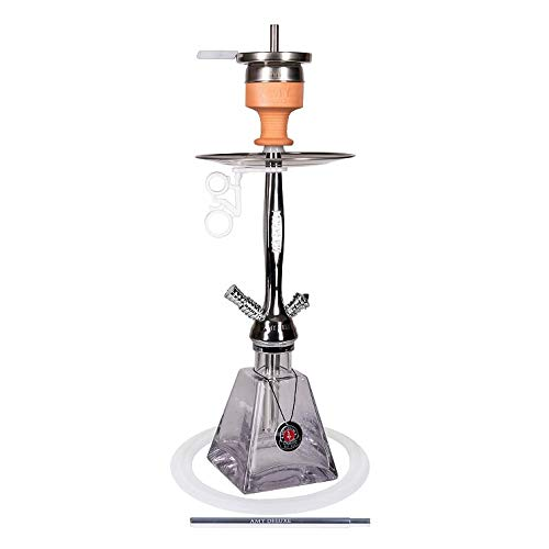 Amy Deluxe 4260396011653 Wasserpfeife, Messing