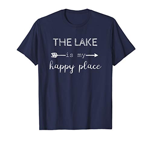 The Lake Is My Happy Place Tee, lake lifestyle, boating