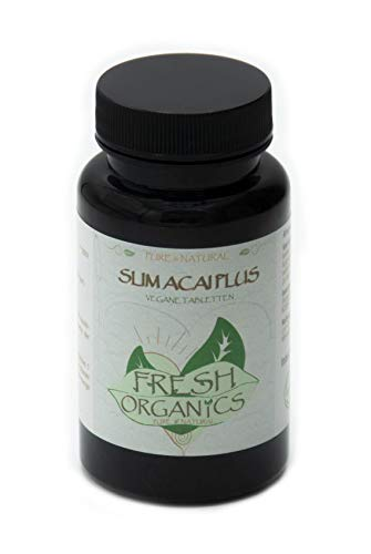 Slim Acai Berry | 120 vegane Tabletten | 6000mg Tagesportion | Für 40 Tage | Reines Extrakt in Premium Qualität (120)