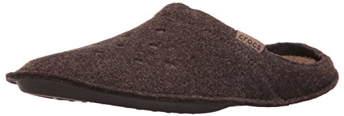 Crocs Classic Slipper, Zapatillas de Estar por casa Unisex Adulto, Marrón (Espresso/Walnut), 43/44 EU