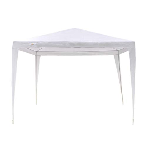 GOJOOASIS Canopy Tent Wedding Party Tent Outdoor Gazebo Heavy Duty White (10' x 10')