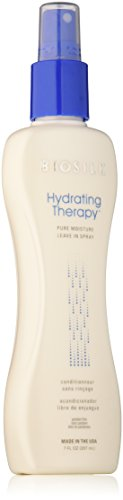 BioSilk Hydrating Therapy Pure Moisture Leave-In Spray - Paraben and Gluten Free, 7 oz.
