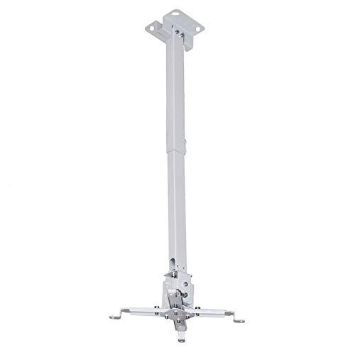 PROVIS Staffa a soffitto Slim universale da 42/65cm per videoproiettore