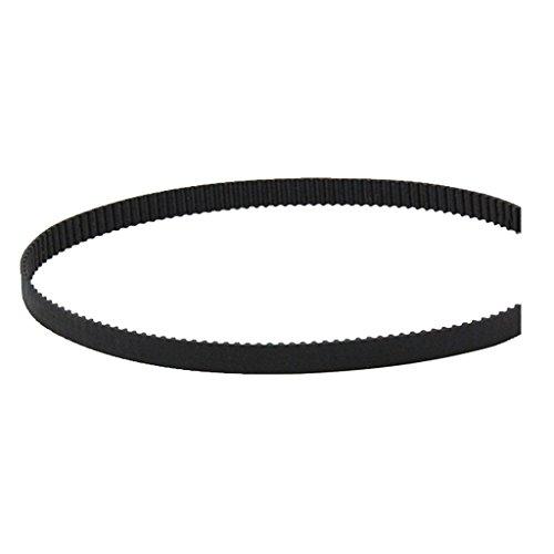 F Fityle 2mm Pitch GT2 Timing Belt 6mm/10mm Width, for Reprap Rostock 3D Printer Part - Black, 10mm