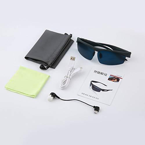 Swiftswan - Gafas de Sol con Bluetooth y Lentes de Seguridad polarizadas con protección UV400