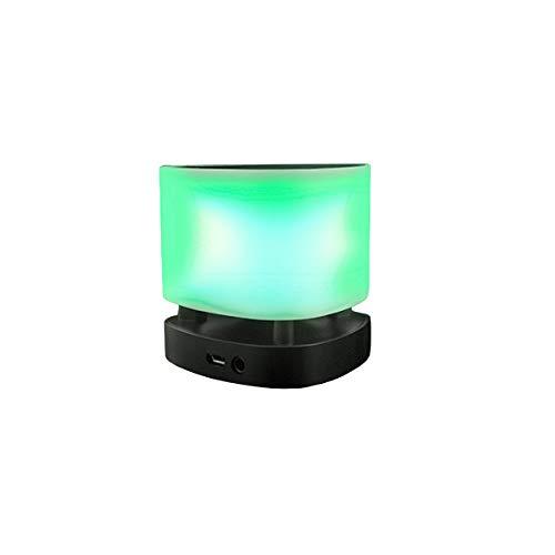Altavoz de 3W con lámpara LED Smart Lamp BSL-Z1| Tecnología Bluetooth para control de música y llamadas Batería recargable y USB de carga.