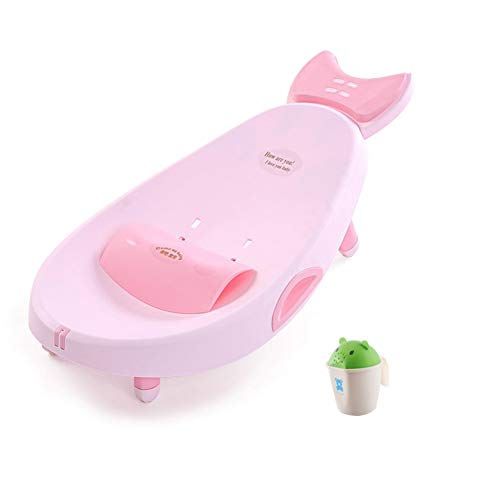 CHAXIA Enfant Chaise De Shampooing Chaise Longue Lit De Shampooing Augmenter Pliable Ajustable 2 Options De Couleur (Color : A)
