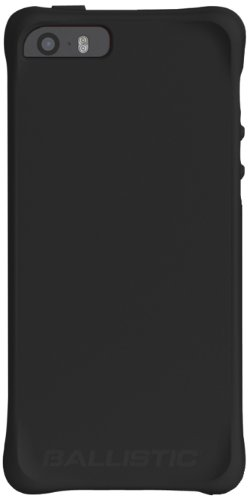 Ballistic LS Jewel Case for iPhone 5/5S - Retail Packaging - Black