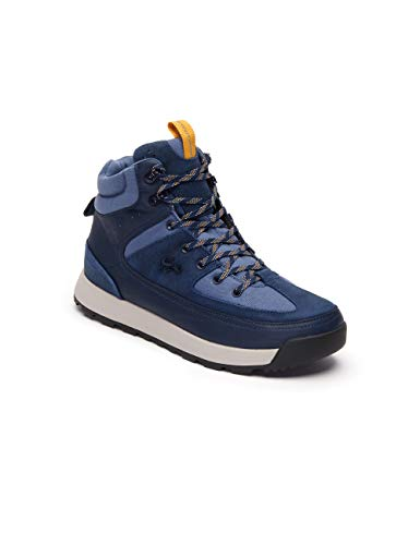 Lacoste Mens Urban Breaker 319 1 CMA Boots - Navy/Off White - UK 8