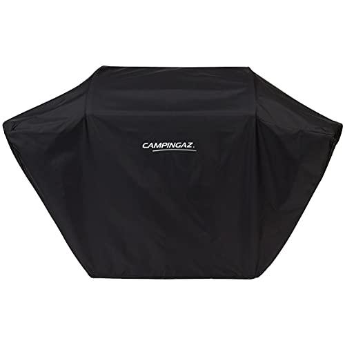 CAMPINGAZ Cover Funda para Barbacoas Classic M, Impermeable, revestida con PU, Resistente a la Intemperie, Cordel de sujeción, para Todas Las Parrillas con Las Dimensiones: 136 x 62 x 102 cm, Negro