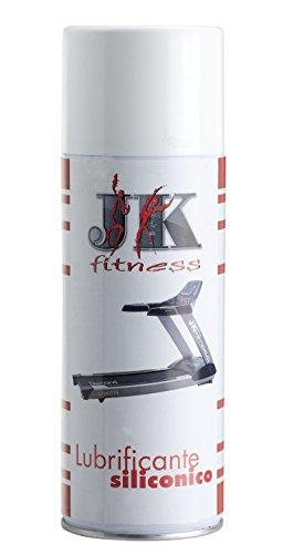 JK FITNESS Spray, Lubrificante per Tapis Roulant Unisex Adulto, Trasparente, 400 ml