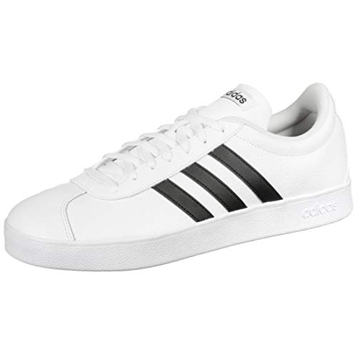Adidas VL Court 2.0, Zapatillas para Hombre, Blanco (Footwear White/Core Black/Core Black...