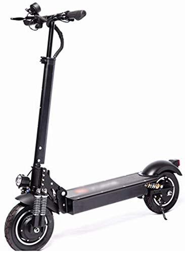 BRFDC Electric Scooter para Adultos Delta Movimiento de Plegado de 36V 18Ah Scooter eléctrico 1000W Speedway Scooter eléctrico