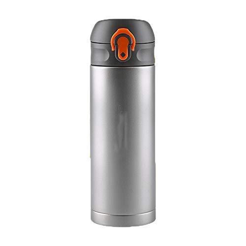 GPWDSN Isolierte Wasserflasche Hüpfbecher, versiegelte Flasche, doppelwandig, Camping, Sport, Outdoor, für Getränke, Alkoholfrei, 1,2, Temperaturkontrolle