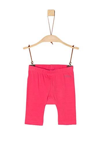 s.Oliver Baby-Mädchen 65.904.75.2769 Leggings, Rot (Pink 4517), (Herstellergröße: 86)