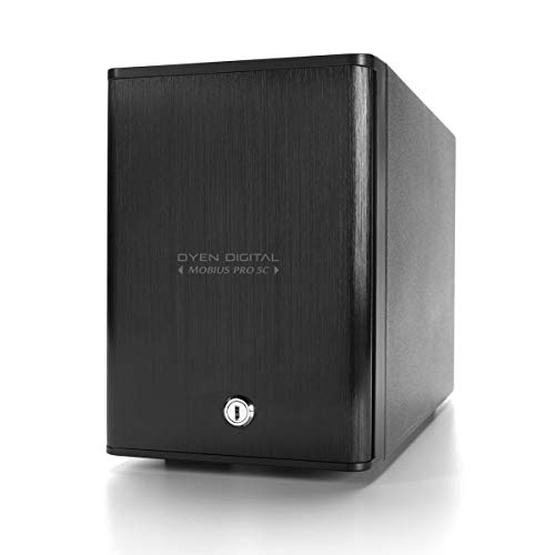 Oyen Digital 40TB Mobius Pro 5C 5-Bay USB-C External Drive Array (3N5-C-40TB)