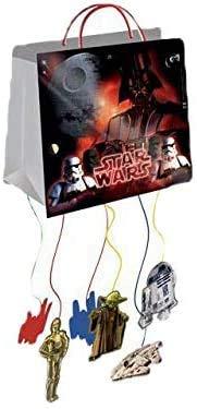 ALMACENESADAN 9972, decoración Fiesta o cumpleaños Disney Star Wars; 1 piñata Darth Vader
