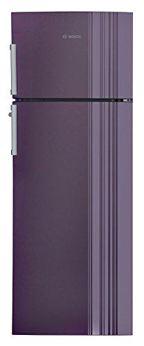 Bosch 288 L 3 Star Frost Free Double Door Refrigerator(KDN30VR30I, Violet)