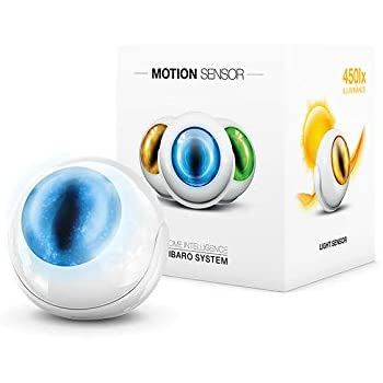 FIBARO FGMS-001 ZW5 Sensor ZW500 Z-Wave Plus Multisensor-Motion, Temperature, Light Intensity, Tamper, work with HomeKit
