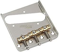 Telecaster Bridge - Gotoh/Wilkinson - Nickel - Brass Saddle