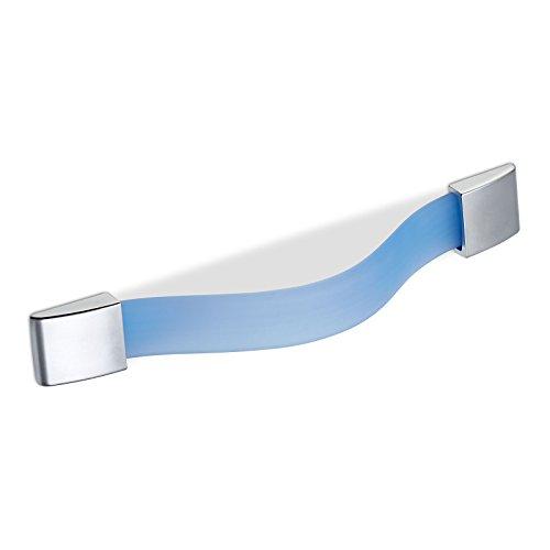 Kindermöbelgriff FLIP BA 128 mm blau Kinder Möbelgriff Schrankgriff von SO-TECH®
