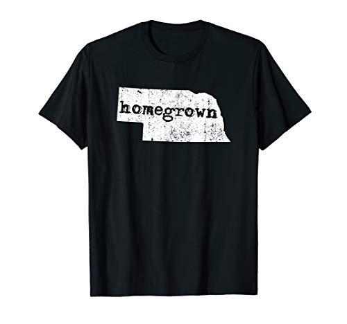 Nebraska Home State Homegrown | Lincoln NE Gift & T-Shirt
