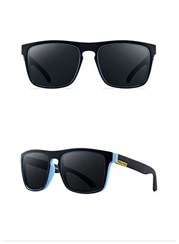 Gafas De Sol Gafas De Sol Polarizadas para Hombre Gafas De Sol Polarizadas para Hombre Gafas De Sol Cuadradas De Moda con Espejo De Dise