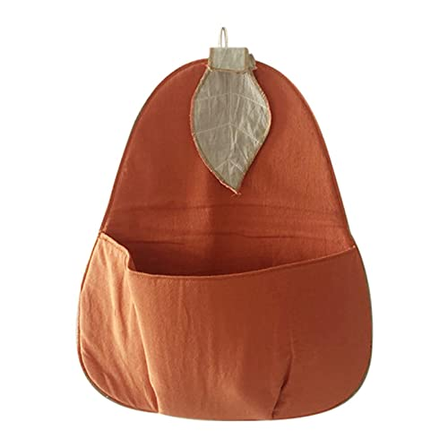 AIHOME Pear-shaped Wall Hanging Bag, Nordic Style Storage Bag Children's Toy Organizer for Pantry Baby Nursery Bathroom