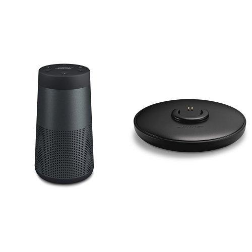 Bose SoundLink Revolve Bluetooth Lautsprecher schwarz + Ladeschale
