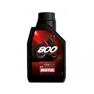 MOTUL ÖL Moto 2T 800V Factory Line Off Road 1Liter 100% Synthese 800V Factory Line Off Road