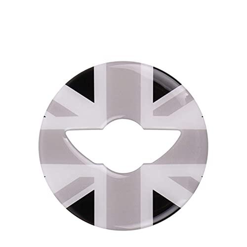 LIUXSDM Per B//MW per Mini per C/Ooper One Jcw F54 F55 F56 F57 F60 Clubman Volante Adesivo Decorativo 3D Accessori per Lo Styling Dell'Auto Decorazione per Interni (Colore: Bandiera Blu Rossa-C)