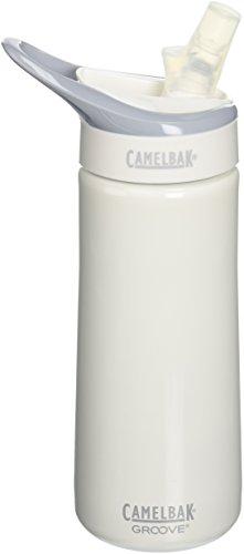 Camelbak Groove Stainless Steel (0.6 Liter/20 Ounce,White)