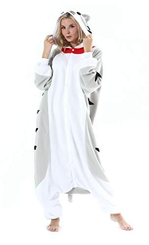 Adultos Animal Pijamas Cosplay Animales de Vestuario Ropa de Dormir Halloween y Carnaval Disfraces Gato S
