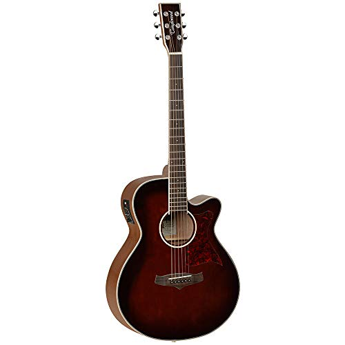 Tanglewood TW4 WB Super Folk Electro Acoustic Guitar, Solid Cedar Top, with EQ